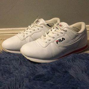 Filas woman's size 8 1/2 wore once but creased